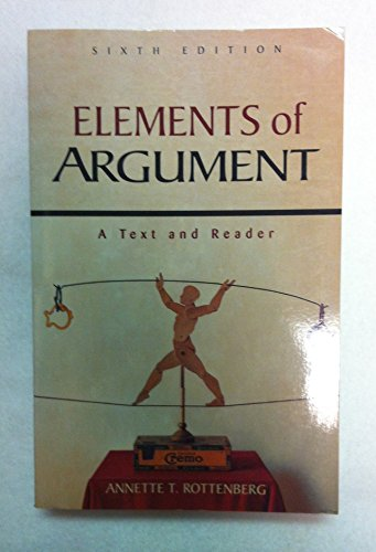 9780312245368: Elements of Argument: A Text and Reader