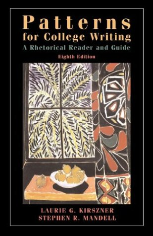 9780312247362: Patterns for College Writing: A Rhetorical Reader and Guide