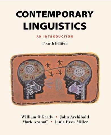 9780312247386: Contemporary Linguistics: An Introduction
