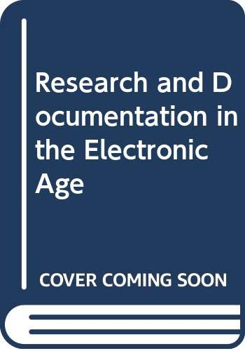 9780312247539: Research and Documentation in the Electronic Age