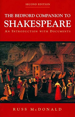 9780312248802: The Bedford Companion to Shakespeare: An Introduction with Documents