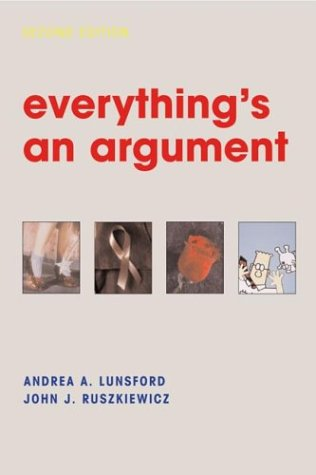 9780312250393: Everything's an Argument