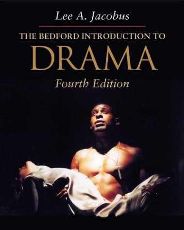 9780312255435: The Bedford Introduction to Drama (4th edition)