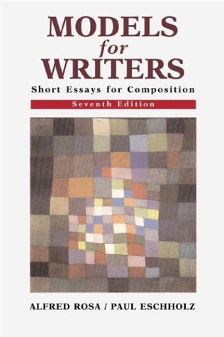 9780312255695: Models for Writers: Short Essays for Composition: 7th Edition