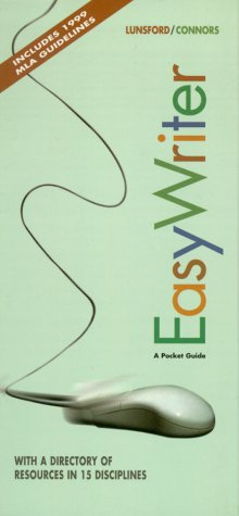Easy Writer: A Pocket Guide: Lunsford, Andrea A.,