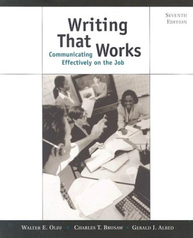 9780312256296: Writing That Works: Communicating Effectively on the Job