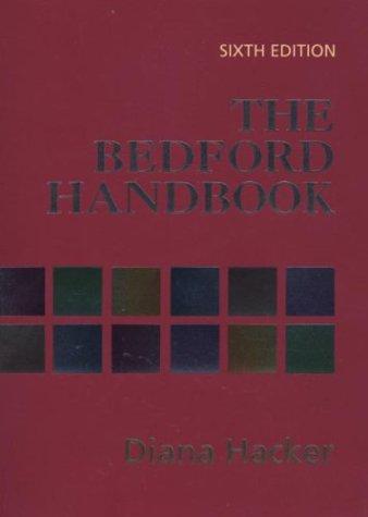 9780312256319: The Bedford Handbook