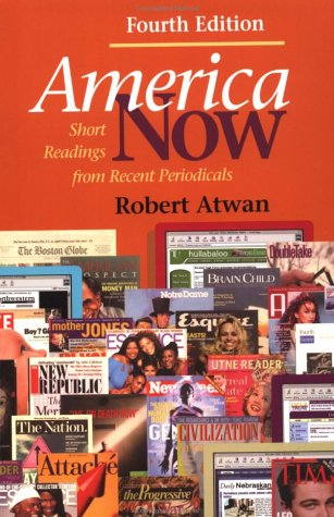 9780312257941: America Now: Short Readings from Recent Periodicals