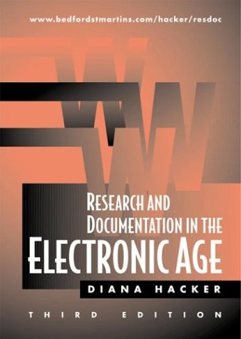 9780312258627: Research and Documentation in the Electronic Age