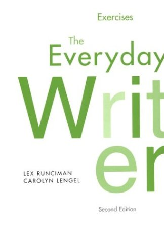 lunsford andrea 2008 the everyday writer pdf