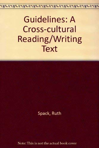 9780312259020: Guidelines: A Cross Cultural Reading Writing Text