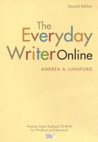 9780312259877: The Everyday Writer Online, 2nd Edition, CD-ROM