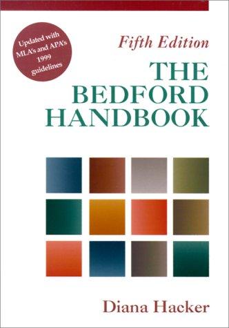 The Bedford Handbook: Diana Hacker