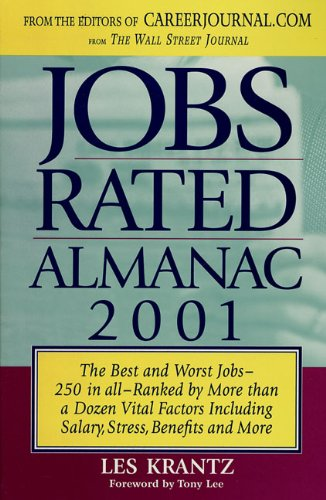 9780312260965: Jobs Rated Almanac, 2001