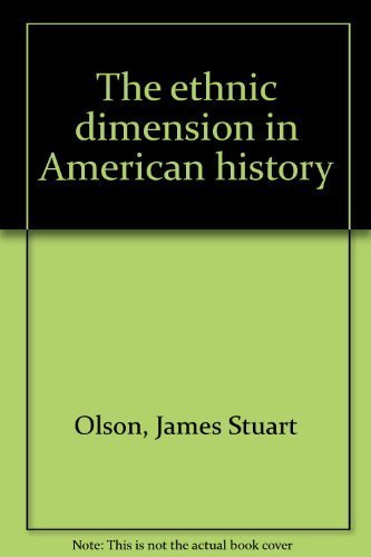 9780312266110: The ethnic dimension in American history