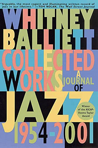9780312270087: Collected Works: A Journal of Jazz 1954-2001