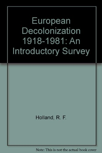 9780312270605: European Decolonization 1918-1981: An Introductory Survey