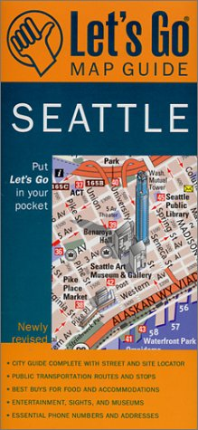 9780312272500: Let's Go Map Guide Seattle (2nd Ed.) (Let's Go: Costa Rica, Nicaragua, & Panama)