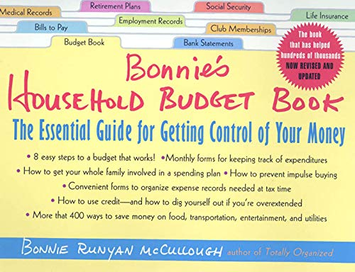 9780312280314 bonnie s household budget book the essential guide