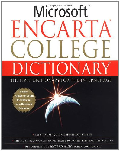 9780312280871: Microsoft Encarta College Dictionary: The First Dictionary For The Internet Age