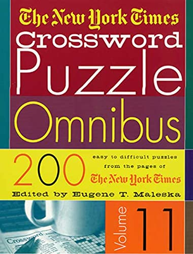 The New York Times Crossword Puzzle Omnibus Vol. 11: The New York Times