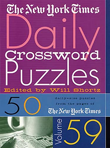 The New York Times Daily Crossword Puzzles Vol. 59: Times, The New York