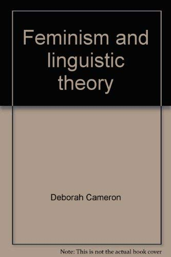 9780312287467: Feminism and linguistic theory