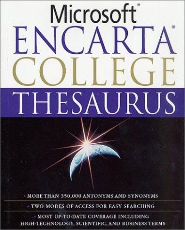 9780312289065: Microsoft Encarta College Thesaurus