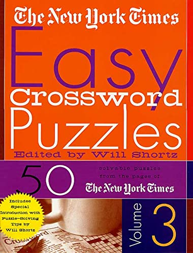 9780312289126: The New York Times Easy Crossword Puzzles Volume 3