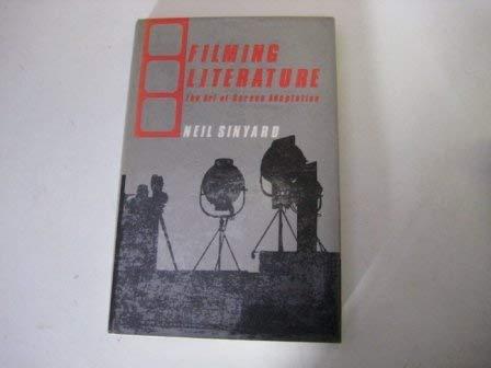 9780312289393: Filming Literature: The Art of Screen Adaptation
