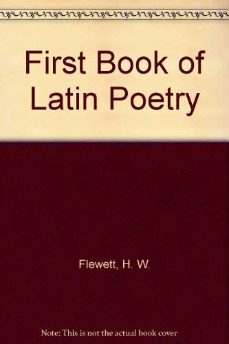 9780312292263: First Book of Latin Poetry