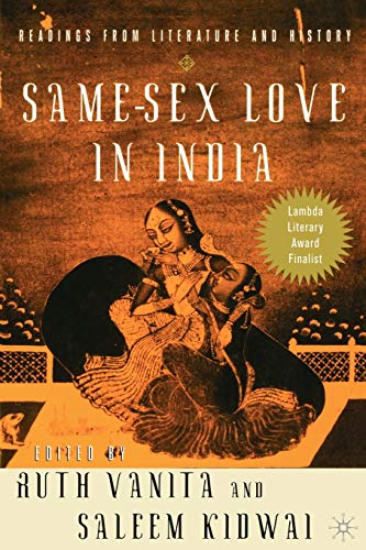 9780312293246: Same-Sex Love in India: Readings from Literature and History