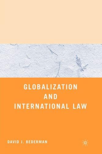 9780312294786: Globalization and International Law