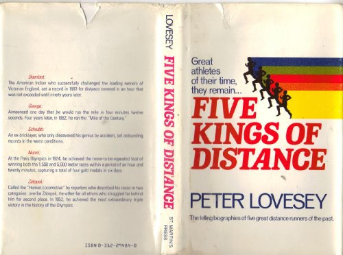 Five Kings of Distance: Lovesey, Peter
