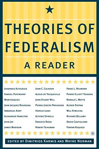 9780312295813: Theories of Federalism: A Reader