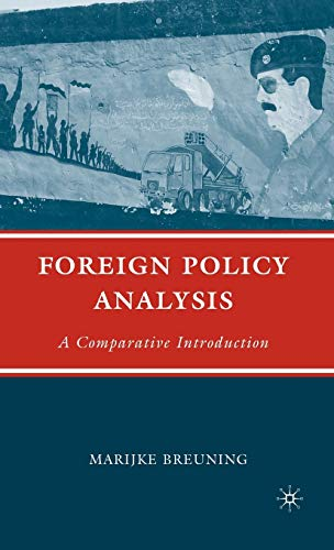 9780312296193: Foreign Policy Analysis: A Comparative Introduction