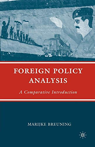 9780312296209: Foreign Policy Analysis: A Comparative Introduction