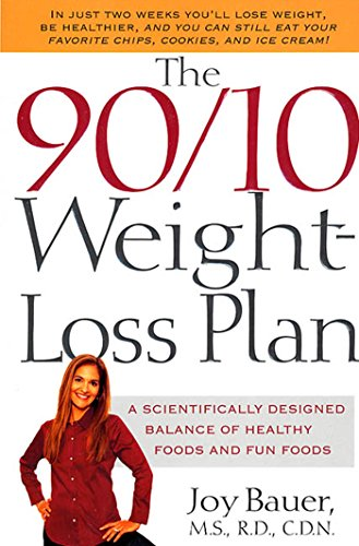 The 90/10 Weight-Loss Plan: A Scientifically Designed: Bauer M.S. R.D.