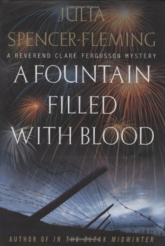 A Fountain Filled with Blood : A Reverend Clare Ferguson Mystery [SIGNED COPY] (Award Nominee)
