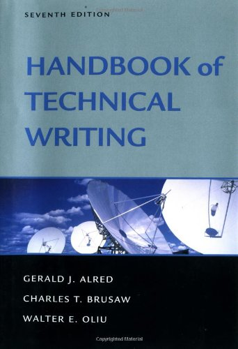 9780312309237: Handbook of Technical Writing