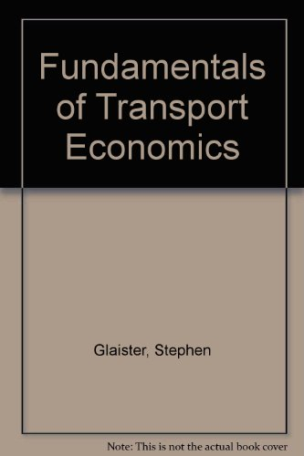 9780312311520: Fundamentals of Transport Economics