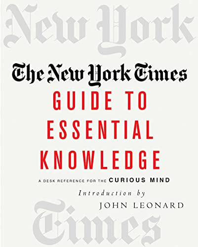 9780312313678: The New York Times Guide to Essential Knowledge: A Desk Reference for the Curious Mind