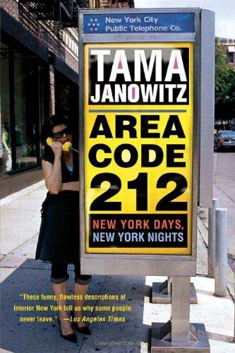 9780312320621: Area Code 212: New York Days, New York Nights