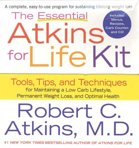 9780312321604: The Essential Atkins for Life Kit: Tools, Tips, and Techniques for Maintaining a Low Carb Lifestyle for Permanent Weight Loss and Optimal Health