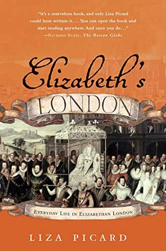 9780312325664: Elizabeth's London: Everyday Life in Elizabethan London