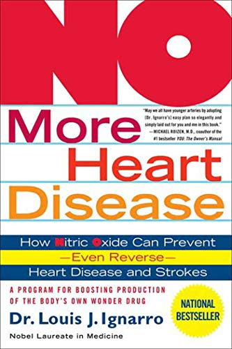9780312335823: No More Heart Disease: How Nitric Oxide Can Prevent---Even Reverse---Heart Disease And Stroke