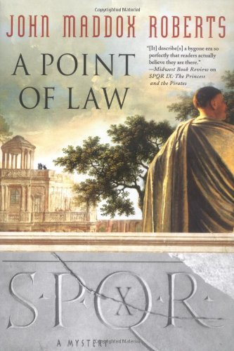 9780312337254: A Point of Law (SPQR X)