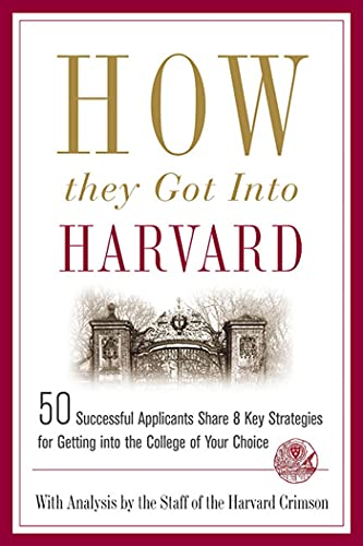 9780312343750: How They Got Into Harvard