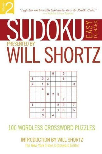 Sudoku Easy to Hard Vol 123 3 Pack: Will Shortz