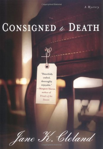 CONSIGNED TO DEATH (SIGNED): Cleland, Jane K.